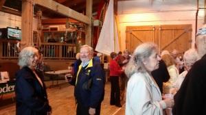 Ann & Doug qui sont parmis les supporteurs de l'événement.