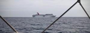 Même croisé le Cruise Ship sur l'autre Renée avait eu le mal de mer pendant deux jours il y a quelques années.